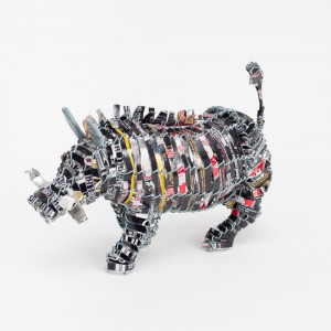Recycled can warthog lrg