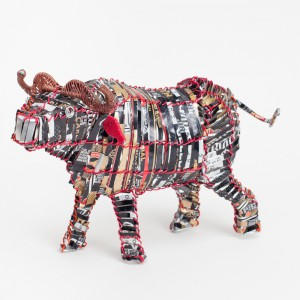 Recycled can buffalo lrg