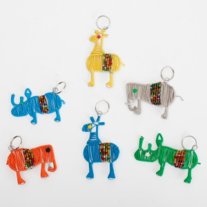 Scooby tel wire keyrings