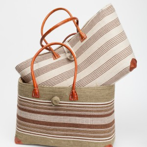woven ladies shopper bags