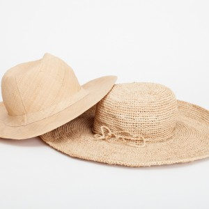 rafia ladies/mens safari hats